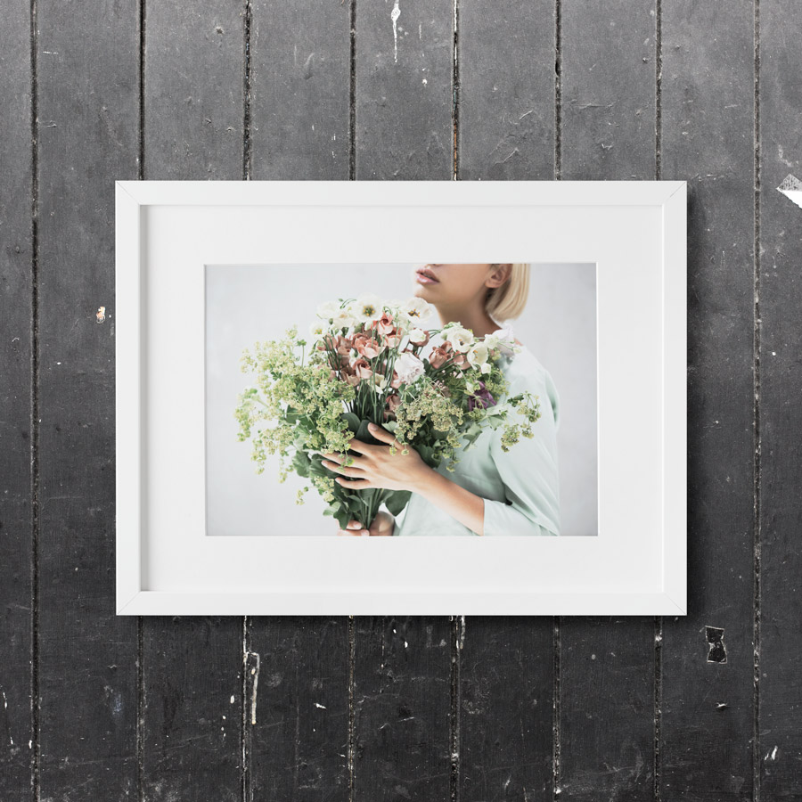 flower-print