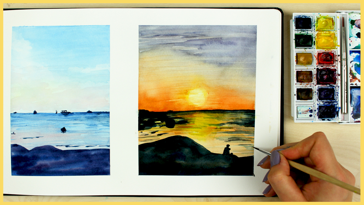 sunset_painting